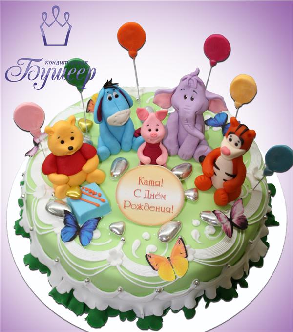 Детский праздник с вини у пяточком ведение детских праздников Большой Тишинский переулок
