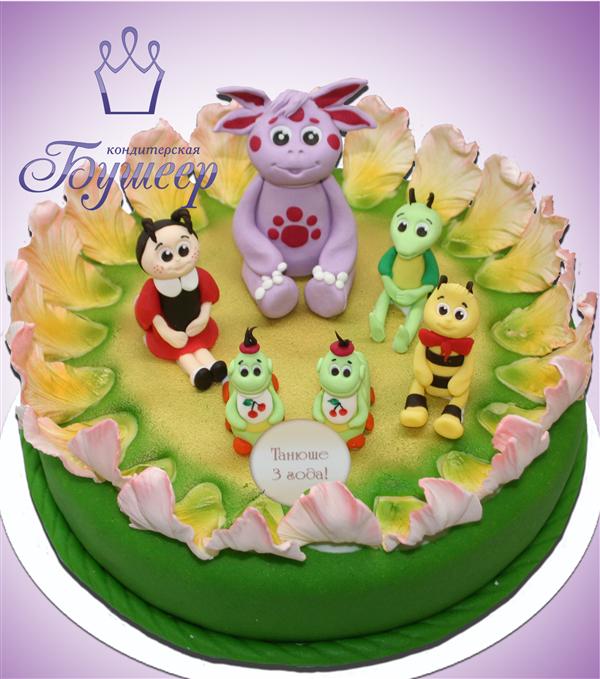 Детский торт лунтик на заказ pictures to pin